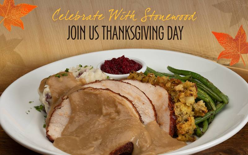 Enjoy Thanksgiving Day Dinner with Stonewood