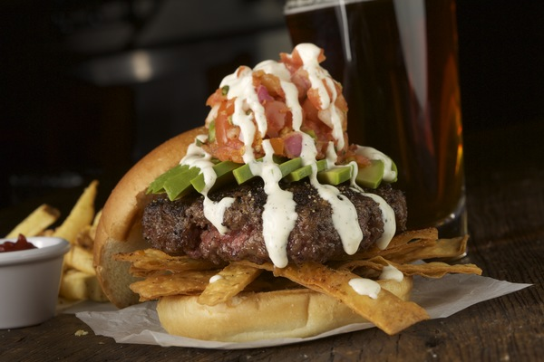 Image of Burger for Crafted Tuesday special