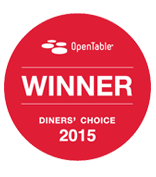 OpenTable Diners Choice Award
